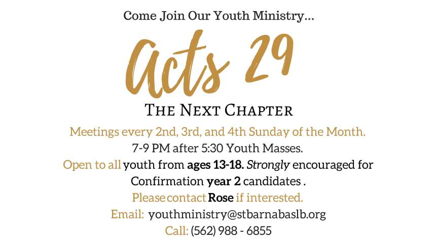 Acts 29 Flyer