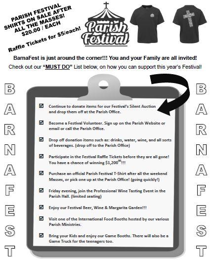 barnafest must do list 2019